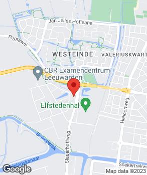 Locatie Autobedrijf Van der Horst Leeuwarden B.V. op kaart