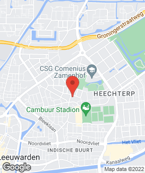Locatie Automobielbedrijf R.R. van der Pol B.V. op kaart