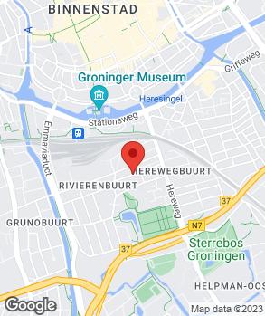 Locatie Garagebedrijf Rikkers op kaart