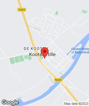 Locatie Autohandel J. Vlieg op kaart
