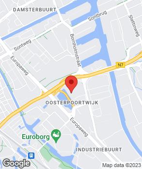 Locatie Porsche Centrum Groningen op kaart