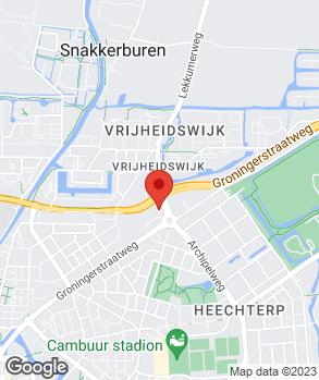 Locatie ABD Renault Leeuwarden op kaart