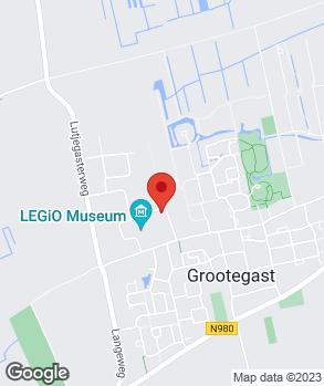 Locatie Autobedrijf De Vries op kaart