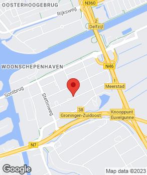 Locatie Autobedrijven Dijkstra Groningen B.V. op kaart