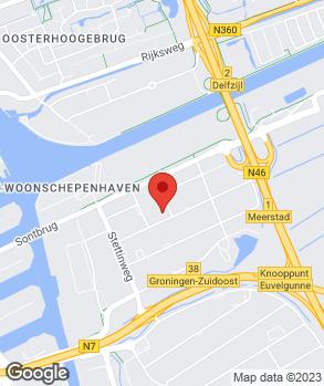 Locatie Nissan Boerhof op kaart
