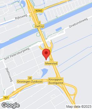 Locatie Terpstra Groningen B.V. op kaart