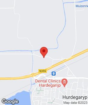 Locatie Rein van der Velde Auto's op kaart