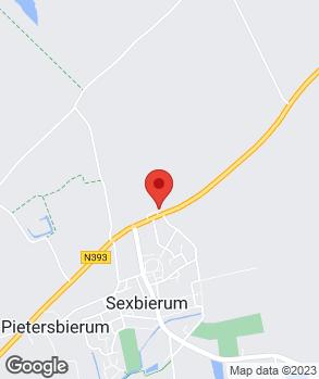 Locatie Autobedrijf J. Terpstra B.V. op kaart
