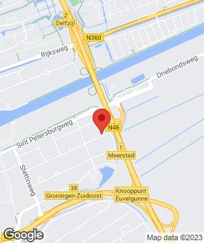 Locatie Broekhuis Groningen B.V. op kaart