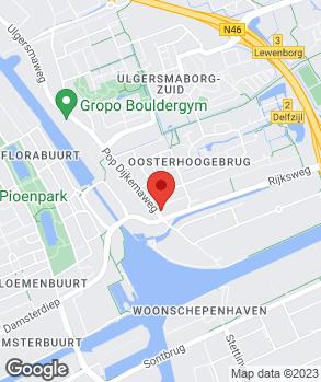 Locatie Garage Maarten Muller op kaart