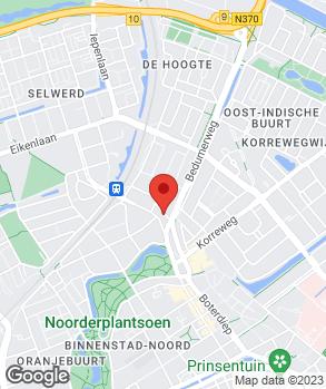 Locatie Autobedrijf van Kampen op kaart