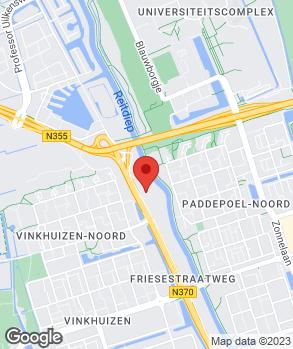 Locatie Jansen's Autobedrijf B.V. op kaart