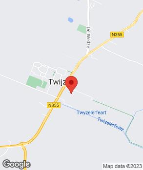 Locatie Autohandel Twijzel B.V. op kaart