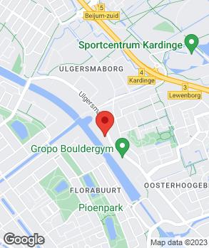Locatie Garage Autohuis Ulgersmaweg op kaart