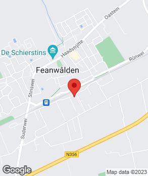 Locatie Jemke Veenstra Auto's op kaart