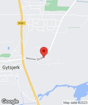 Locatie Autobedrijf Bauke Damstra op kaart