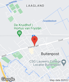 Locatie Auto- en Rijwielhandel Wiersma op kaart