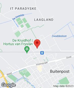 Locatie Autobedrijf Buitenpost op kaart