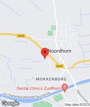 Locatie Autobedrijf Freddy van der Veen op kaart