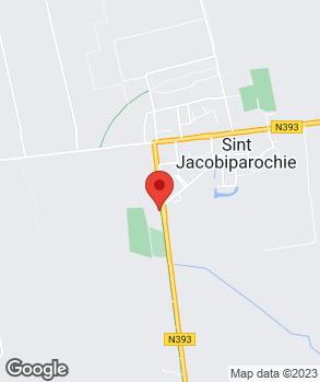 Locatie De Bandenhoeve op kaart