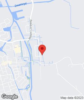 Locatie J.W. de Jong Auto's op kaart