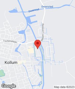 Locatie Autobedrijf Gaastra op kaart