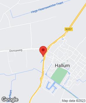 Locatie Autobedrijf W.D. Hellema B.V. op kaart
