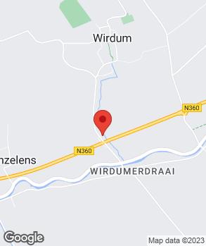 Locatie V.O.F. Autobedrijf Rozema op kaart