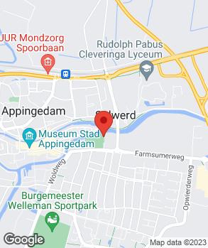 Locatie Autobedrijf Dingemanse Appingedam B.V. op kaart
