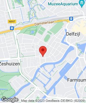Locatie Garage Oud-West op kaart