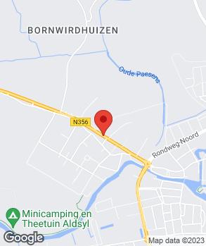 Locatie Autobedrijf P. Wijtsma op kaart