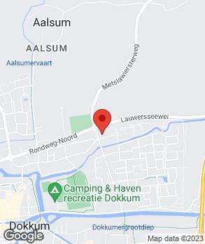 Locatie Automobielbedrijf Van den Akker op kaart
