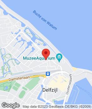 Locatie Autohuis Delfzijl B.V. op kaart