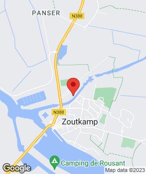 Locatie R.A. Veenwijk op kaart