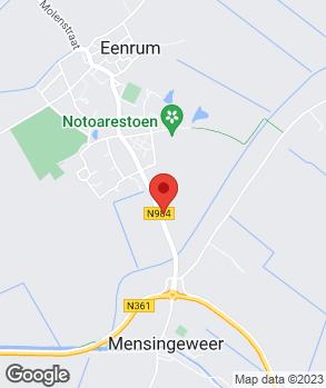 Locatie Autobedrijf Kampstra & Zn. op kaart
