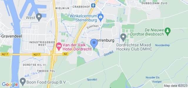 Google maps Oostkilpark