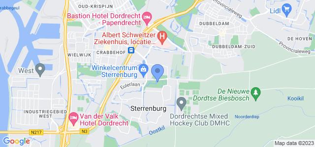 Google maps Sterrenburgpark