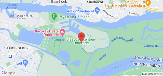 Google maps Hollandse Biesbosch