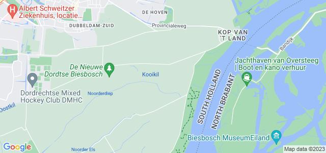 Google maps Biesbosch