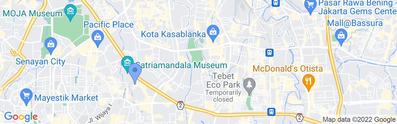 Staticmap?size=1280x200&maptype=roadmap&center= 6.22879154235196%2c106.83868963588657&markers=size:mid%7ccolor:blue%7c 6.23502%2c106