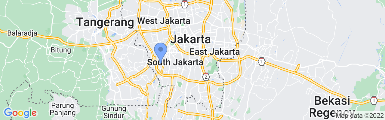 Staticmap?size=1280x200&maptype=roadmap&center= 6.257023009494696%2c106.84993329882809&markers=size:mid%7ccolor:blue%7c 6.2649030685%2c106