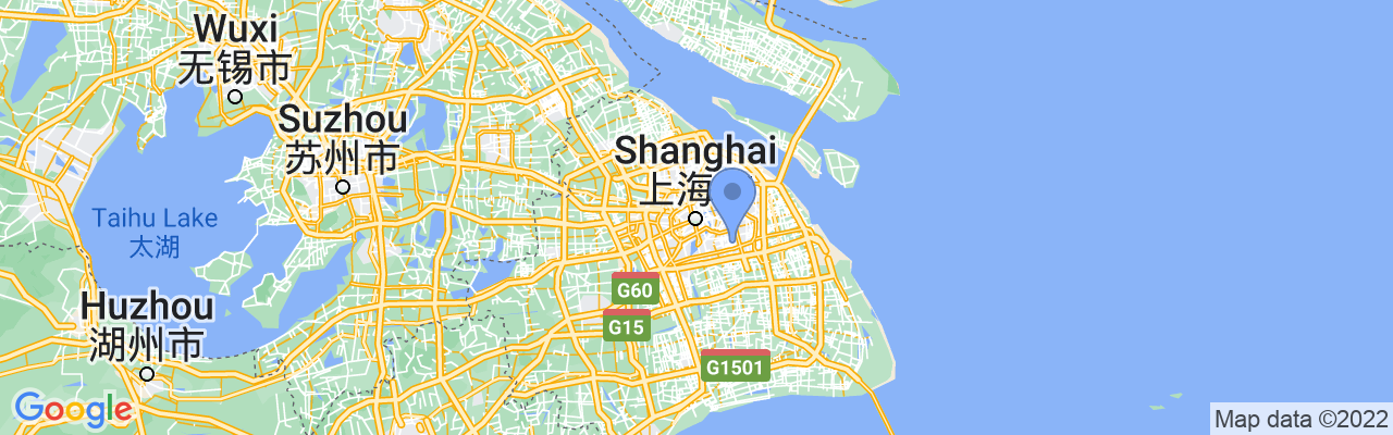 Staticmap?size=1280x200&maptype=roadmap&center=31.2303904%2c121.47370209999997&markers=size:mid%7ccolor:blue%7c31.1752738953%2c121