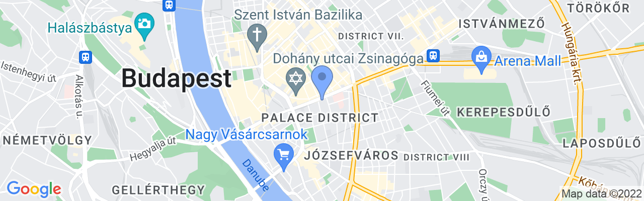 Staticmap?size=1280x200&maptype=roadmap&center=47.49527399999999%2c19.065078&markers=size:mid%7ccolor:blue%7c47.495274%2c19