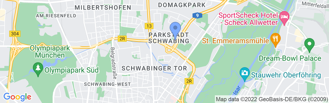 Staticmap?size=1280x200&maptype=roadmap&center=48.175144719236634%2c11.59000939282123&markers=size:mid%7ccolor:blue%7c48.1777%2c11