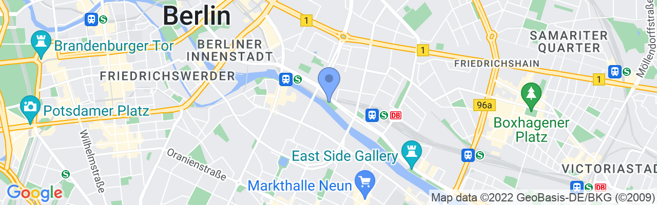Staticmap?size=1280x200&maptype=roadmap&center=52.5117851%2c13.425881600000025&markers=size:mid%7ccolor:blue%7c52.5117835999%2c13