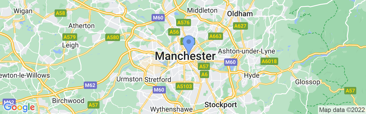 Staticmap?size=1280x200&maptype=roadmap&center=53.479324%2c 2.248485100000039&markers=size:mid%7ccolor:blue%7c53.4817008972%2c 2