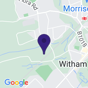 This map displays the location of the opportunity