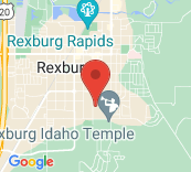 View Map of BYUI Address