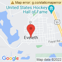 Eveleth Super 8 Map
