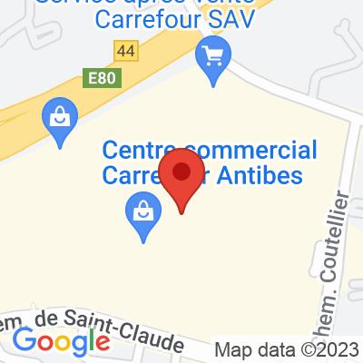 Carrefour Antibes (pour deux-roues électriques)